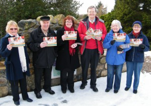 Sir Robert Smith MP and Cllr Iris Walker join the Fairer Tax campaigners in Westhill