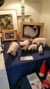 "A flock of sheep by Sandra Rettie of ""Sheepies 'oo"""